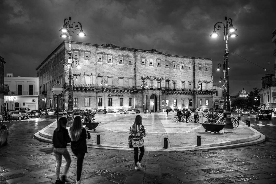 La piazza di Manduria, Puglia, Italy by Tonino Mosconi Fotografo, fineart photography, editoria, pubblicazioni, servizi fotografici turismo
