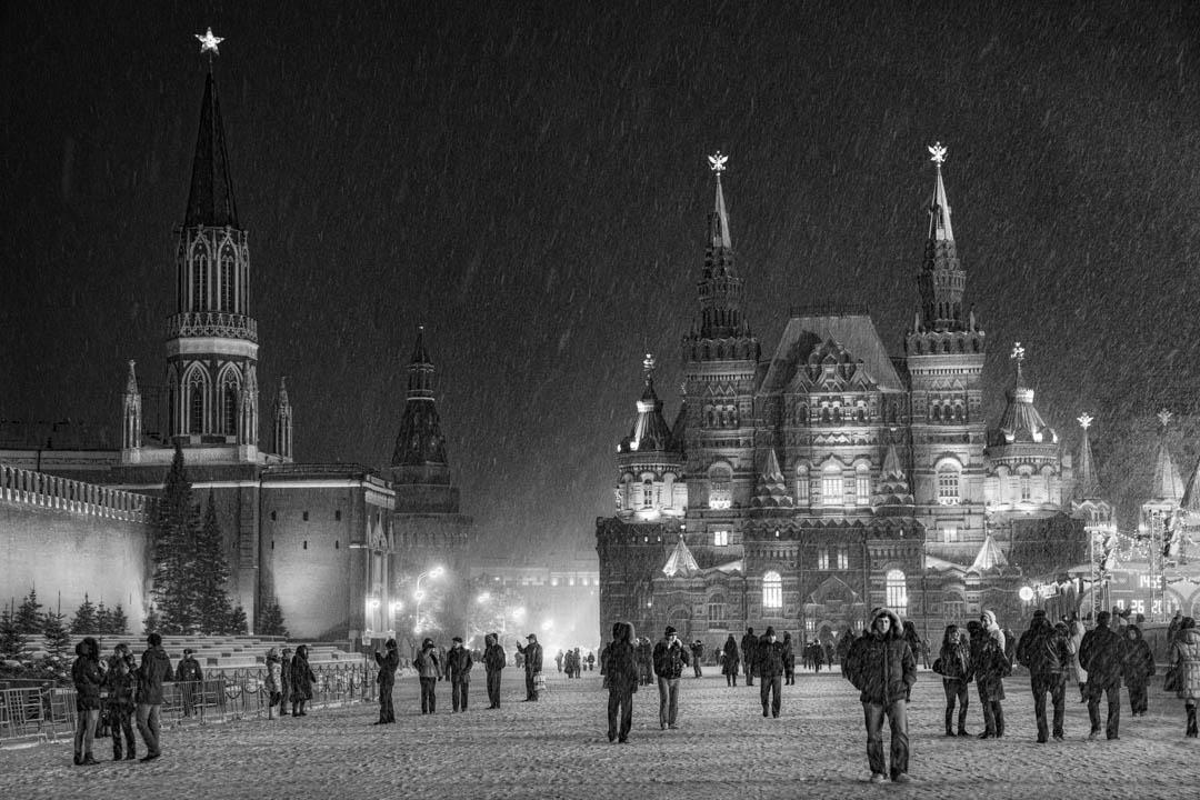 Russia, Mosca, Il Cremlino e la Piazza Rossa a febbraio by Tonino Mosconi Fotografo, fineart photography, editoria, pubblicazioni, servizi fotografici turismo